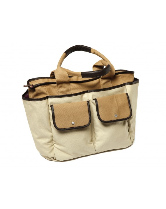 "Wickeltaschenset ""Lourdes"" Canvas Leder"