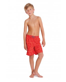 Badeshorts FINN Boardshorts gewebt orange