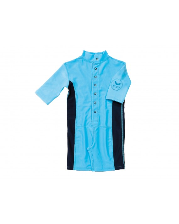 VENEDIG UV-Schutzanzug Baby/ Kind Einteiler UPF 50+ blau