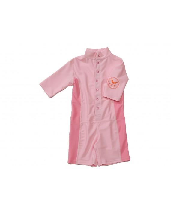 VENEDIG UV-Schutzanzug Baby/ Kind Einteiler UPF 50+ pink