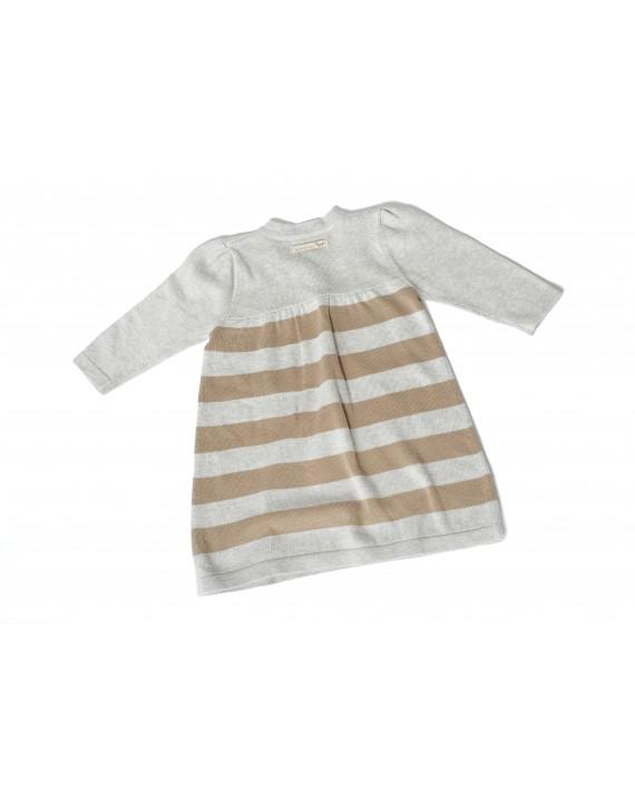 SVANTJE_Baby-Strickkleid 100% Biobaumwolle