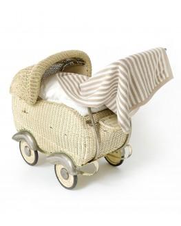 SVENJA Babydecke 100% Biobaumwolle gestrickt Kindermode GOTS